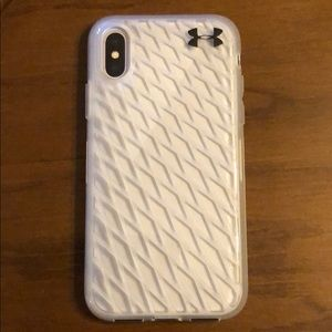 BNWT Under Armour iPhone X phone case